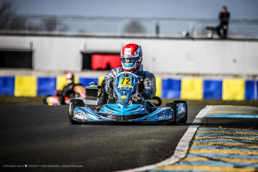 Sacha Hebrard - Le Mans - NSK - 2018 -