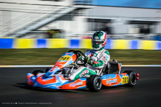 Lucas Joly - Le Mans - NSK - 2018