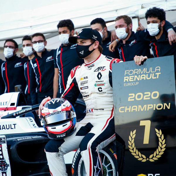 Victor Martins - Champion Formule Renault 2020 /. © DPPI